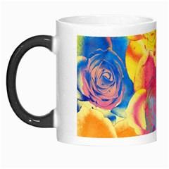 Pop Art Roses Morph Mugs by DanaeStudio