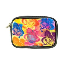 Pop Art Roses Coin Purse by DanaeStudio