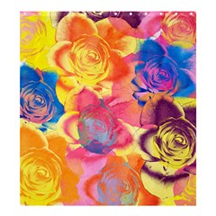 Pop Art Roses Shower Curtain 66  X 72  (large)  by DanaeStudio