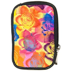 Pop Art Roses Compact Camera Cases by DanaeStudio