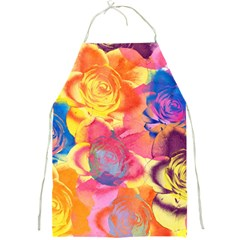 Pop Art Roses Full Print Aprons by DanaeStudio