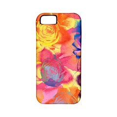 Pop Art Roses Apple Iphone 5 Classic Hardshell Case (pc+silicone) by DanaeStudio