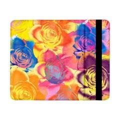 Pop Art Roses Samsung Galaxy Tab Pro 8 4  Flip Case by DanaeStudio