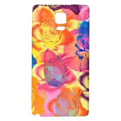 Pop Art Roses Galaxy Note 4 Back Case by DanaeStudio