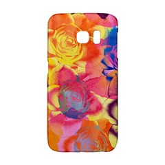 Pop Art Roses Galaxy S6 Edge by DanaeStudio