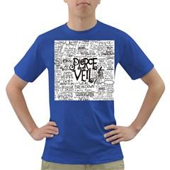 Pierce The Veil Music Band Group Fabric Art Cloth Poster Dark T Shirt by Onesevenart