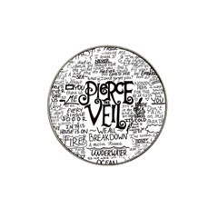 Pierce The Veil Music Band Group Fabric Art Cloth Poster Hat Clip Ball Marker (4 Pack) by Onesevenart