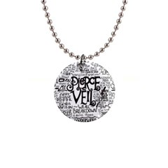 Pierce The Veil Music Band Group Fabric Art Cloth Poster Button Necklaces by Onesevenart
