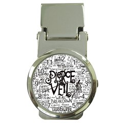 Pierce The Veil Music Band Group Fabric Art Cloth Poster Money Clip Watches by Onesevenart