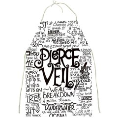 Pierce The Veil Music Band Group Fabric Art Cloth Poster Full Print Aprons by Onesevenart