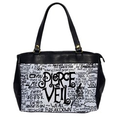 Pierce The Veil Music Band Group Fabric Art Cloth Poster Office Handbags by Onesevenart