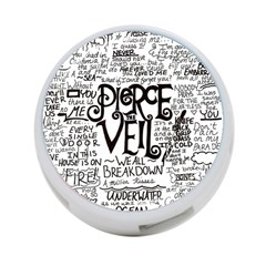 Pierce The Veil Music Band Group Fabric Art Cloth Poster 4 Port Usb Hub (two Sides)  by Onesevenart