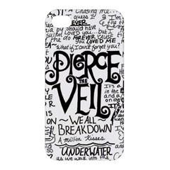 Pierce The Veil Music Band Group Fabric Art Cloth Poster Apple Iphone 4/4s Hardshell Case by Onesevenart