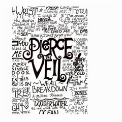 Pierce The Veil Music Band Group Fabric Art Cloth Poster Large Garden Flag (two Sides) by Onesevenart