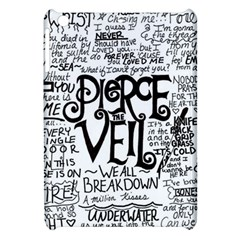 Pierce The Veil Music Band Group Fabric Art Cloth Poster Apple Ipad Mini Hardshell Case by Onesevenart