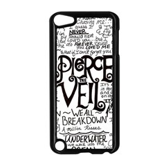Pierce The Veil Music Band Group Fabric Art Cloth Poster Apple Ipod Touch 5 Case (black) by Onesevenart