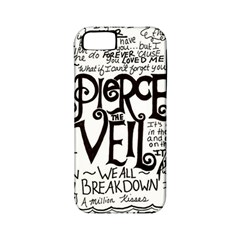 Pierce The Veil Music Band Group Fabric Art Cloth Poster Apple Iphone 5 Classic Hardshell Case (pc+silicone) by Onesevenart