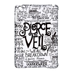 Pierce The Veil Music Band Group Fabric Art Cloth Poster Apple Ipad Mini Hardshell Case (compatible With Smart Cover) by Onesevenart