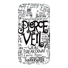 Pierce The Veil Music Band Group Fabric Art Cloth Poster Samsung Galaxy S4 I9500/i9505 Hardshell Case by Onesevenart
