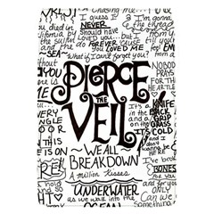 Pierce The Veil Music Band Group Fabric Art Cloth Poster Flap Covers (s)  by Onesevenart