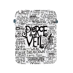 Pierce The Veil Music Band Group Fabric Art Cloth Poster Apple Ipad 2/3/4 Protective Soft Cases by Onesevenart