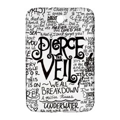 Pierce The Veil Music Band Group Fabric Art Cloth Poster Samsung Galaxy Note 8 0 N5100 Hardshell Case  by Onesevenart