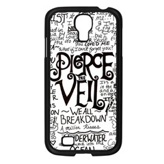 Pierce The Veil Music Band Group Fabric Art Cloth Poster Samsung Galaxy S4 I9500/ I9505 Case (black) by Onesevenart