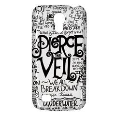 Pierce The Veil Music Band Group Fabric Art Cloth Poster Galaxy S4 Mini by Onesevenart