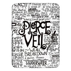 Pierce The Veil Music Band Group Fabric Art Cloth Poster Samsung Galaxy Tab 3 (10 1 ) P5200 Hardshell Case  by Onesevenart