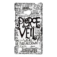 Pierce The Veil Music Band Group Fabric Art Cloth Poster Nokia Lumia 720 by Onesevenart