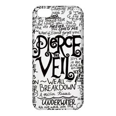 Pierce The Veil Music Band Group Fabric Art Cloth Poster Apple Iphone 5c Hardshell Case by Onesevenart