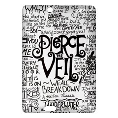 Pierce The Veil Music Band Group Fabric Art Cloth Poster Amazon Kindle Fire Hd (2013) Hardshell Case by Onesevenart