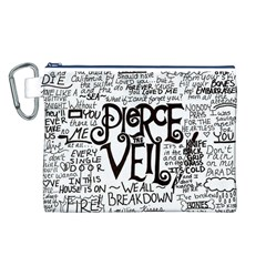 Pierce The Veil Music Band Group Fabric Art Cloth Poster Canvas Cosmetic Bag (l) by Onesevenart