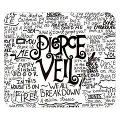 Pierce The Veil Music Band Group Fabric Art Cloth Poster Double Sided Flano Blanket (small)  by Onesevenart