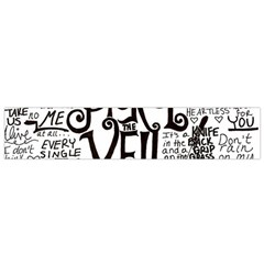 Pierce The Veil Music Band Group Fabric Art Cloth Poster Flano Scarf (small) by Onesevenart