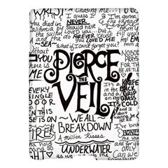 Pierce The Veil Music Band Group Fabric Art Cloth Poster Samsung Galaxy Tab S (10 5 ) Hardshell Case  by Onesevenart