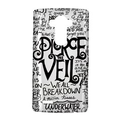 Pierce The Veil Music Band Group Fabric Art Cloth Poster Lg G4 Hardshell Case by Onesevenart