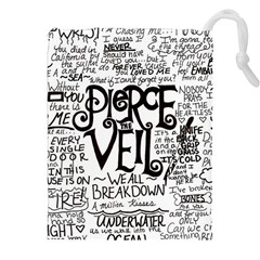 Pierce The Veil Music Band Group Fabric Art Cloth Poster Drawstring Pouches (xxl) by Onesevenart