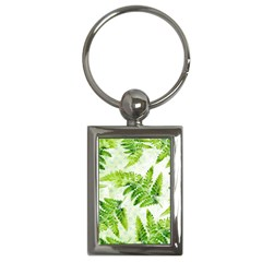 Fern Leaves Key Chains (rectangle)  by DanaeStudio