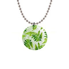 Fern Leaves Button Necklaces by DanaeStudio
