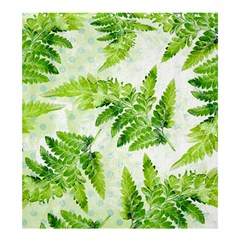 Fern Leaves Shower Curtain 66  X 72  (large)  by DanaeStudio