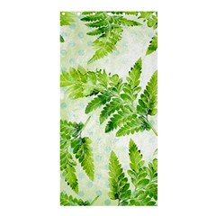Fern Leaves Shower Curtain 36  X 72  (stall)  by DanaeStudio