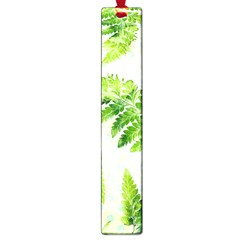 Fern Leaves Large Book Marks by DanaeStudio