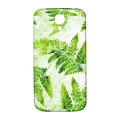 Fern Leaves Samsung Galaxy S4 I9500/i9505  Hardshell Back Case by DanaeStudio
