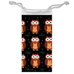 Halloween brown owls  Jewelry Bags