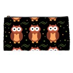 Halloween brown owls  Pencil Cases