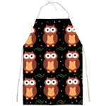 Halloween brown owls  Full Print Aprons