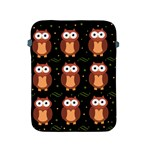 Halloween brown owls  Apple iPad 2/3/4 Protective Soft Cases