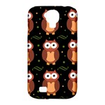 Halloween brown owls  Samsung Galaxy S4 Classic Hardshell Case (PC+Silicone)
