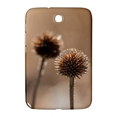Withered Globe Thistle In Autumn Macro Samsung Galaxy Note 8 0 N5100 Hardshell Case  by wsfcow